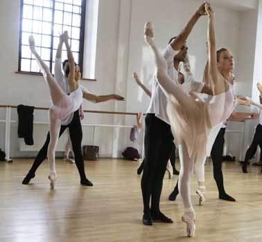 In class rehearsal