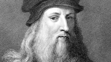 Leonardo da Vinci is one of the most famous artists of all time!