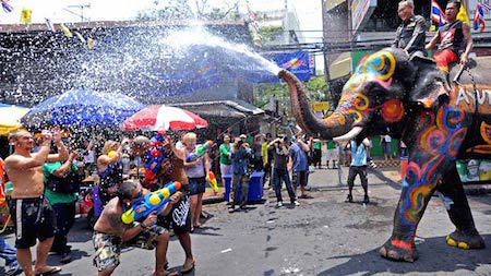 This Thai tradition sure looks like fun!