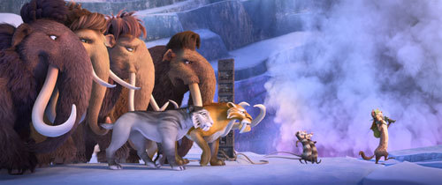 The herd sets off on a quest to save themselves from a Scrat-tastrope.