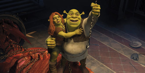 Fiona and Shrek