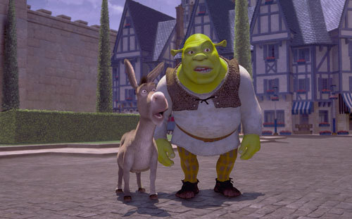 Donkey and Shrek