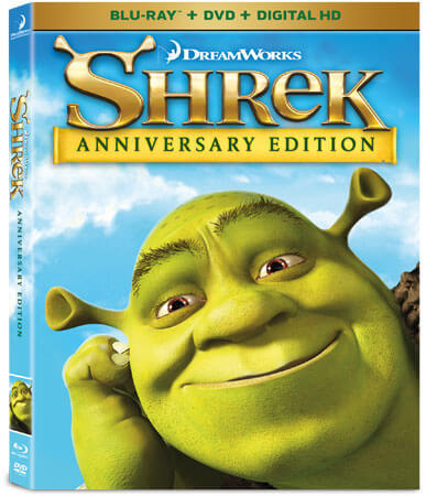 Shrek 15th Anniversary Blu-ray
