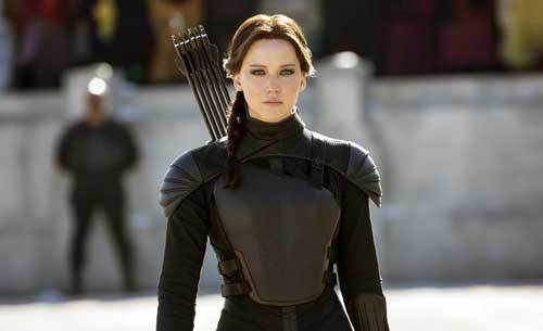Jennifer as Katniss Everdeen in The Hunger Games Series