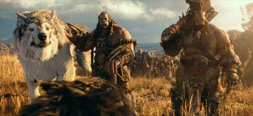 Durotan and Orgrim lead the clan
