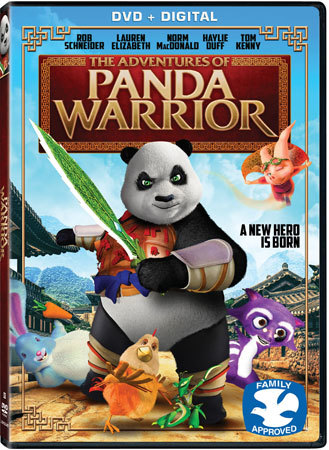 The Adventures of Panda Warrior DVD Cover