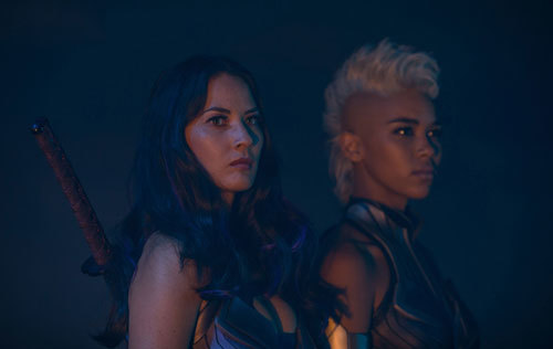 Psylocke and Storm are two of Apocalypse's Four Horsemen
