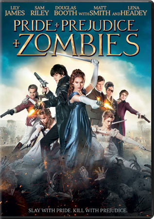 Pride and Prejudice and Zombies DVD