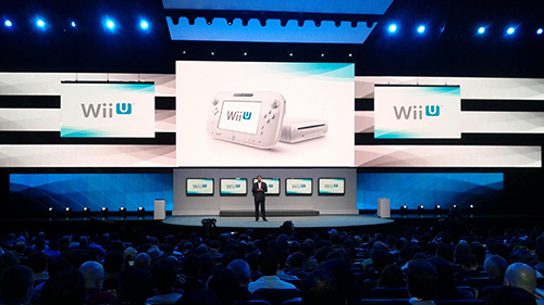 Nintendo's 2012 E3 conference which held the Wii U announcement.