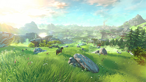 The new Zelda game which was first shown off at E3 2015.