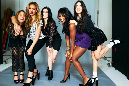 Fifth Harmony is Ally Brooke, Camila Cabello, Dinah Jane, Lauren Jauregui and Normani Kordei