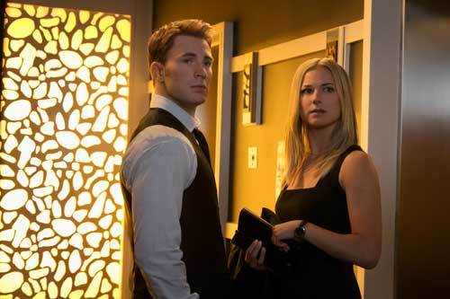 Steve Rogers with Agent Sharon Carter