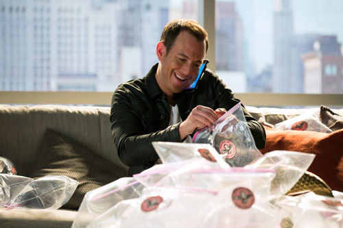 Will Arnett as Vern tries to sell air