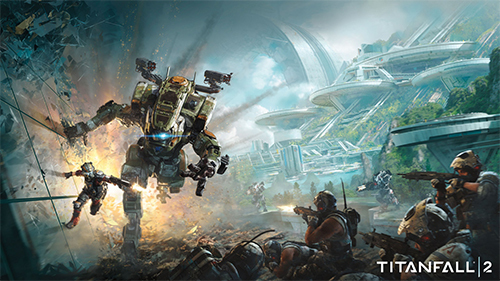The Titanfall 2 cover for the upcoming game!