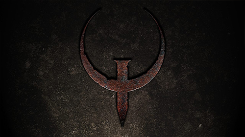 The Quake logo is enough to excite any old school fan.