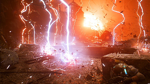 An early look at the storm we saw at Microsoft's E3 demo.