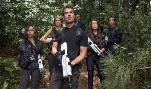 Christina, Tris, Four, Caleb and Peter