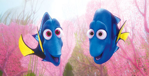 Dory's parents Jenny and Charlie