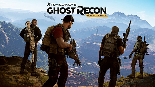 Ghost Recon returns to consoles with an open-world setting.
