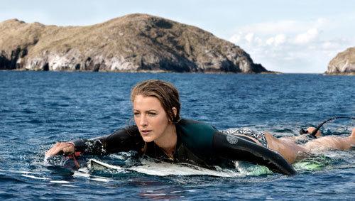 Blake as Nancy paddling