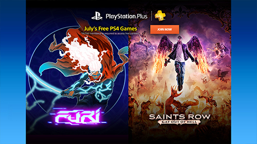 The two PlayStation 4 games that come with your Plus subscription.