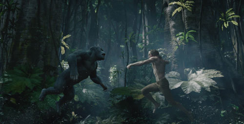 Tarzan must fight his ape brother