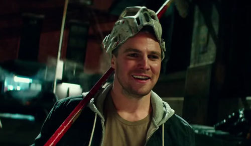 Stephen Amell as Casey Jones