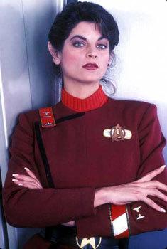Lt. Saavik (Kirstie Alley)