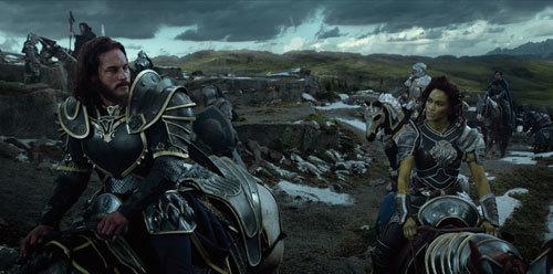 Lothar and Garona in battle