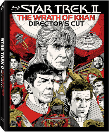 Star Trek II The Wrath of Khan Blu-ray cover art