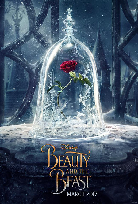 NEW Beauty and the Beast Poster!
