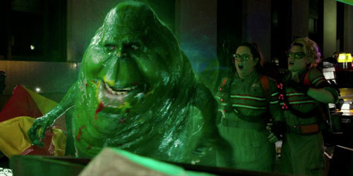 Slimer is back!