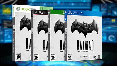 Batman - The Telltale Series will be hitting store shelves on September 13th.