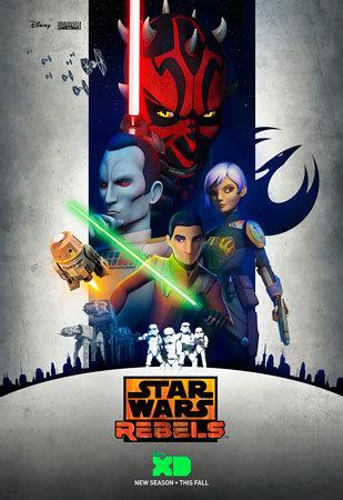 Star Wars Rebels Season Three Poster