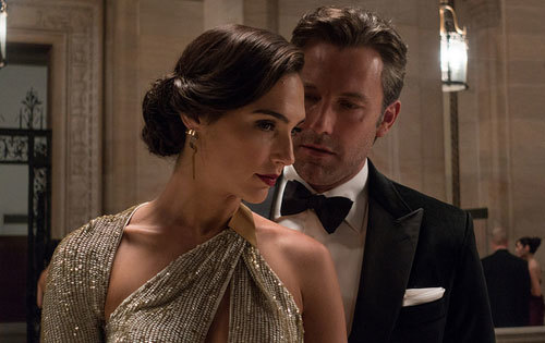 Bruce confronts Diana Prince