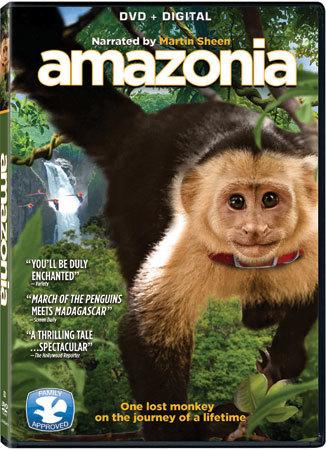 Amazonia DVD Cover
