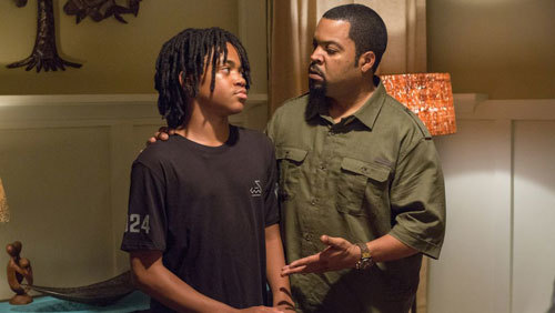 Ice Cube as Calvin tries to reason with son Jalen