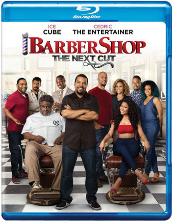 Barbershop: The Next Cut Blu-ray Cover