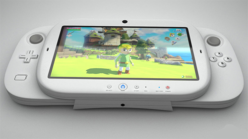 A mock-up of a potential NX design.