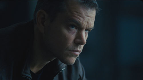 A serious Jason Bourne (Matt Damon) searches for his past