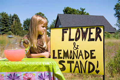 Set up a Lemonade Stand