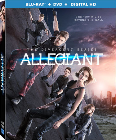 The Divergent Series: Allegiant Blu-ray Cover