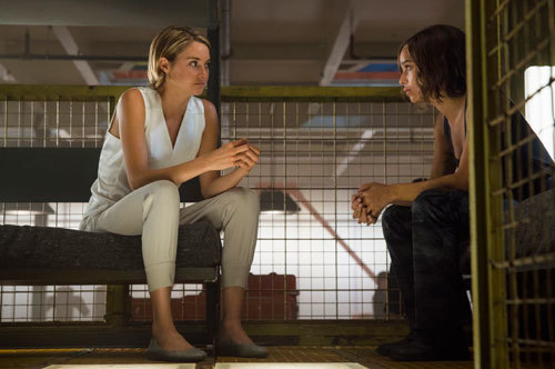 Tris gets input from Christina