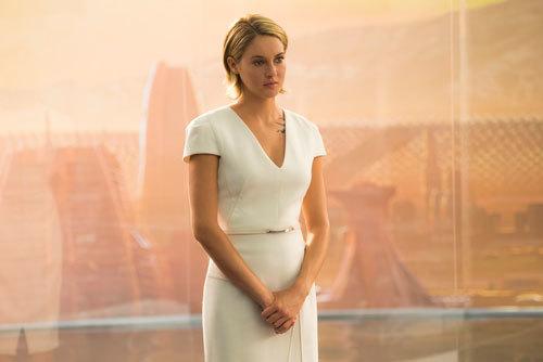 Tris dresses the part
