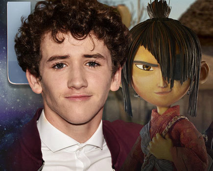 Art Parkinson at the Kubo premiere