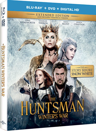 The Huntsman: Winter's War Blu-ray