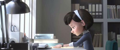 Little Girl spends summer days studying