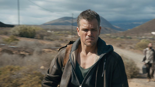 Bourne alone and on the run