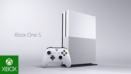 The New 4K capable Xbox One S.