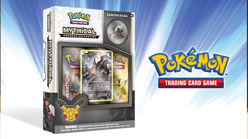 Darkrai's new Mythical card pack!